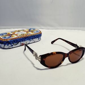 Brighton Duke of Earl Sunglasses With Case